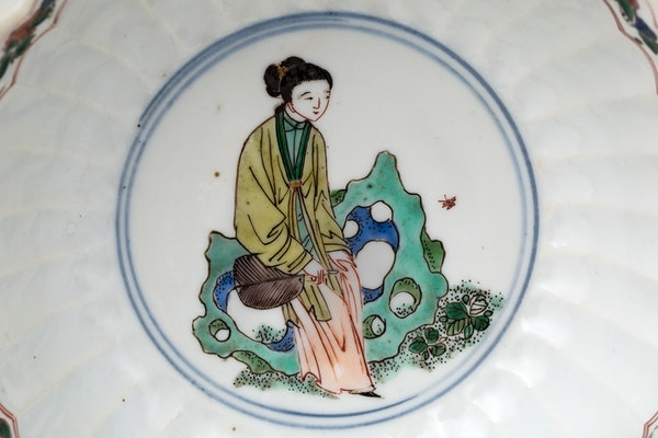 A CHINESE FAMILLE VERTE BOWL, KANGXI (1662-1722) - image 2