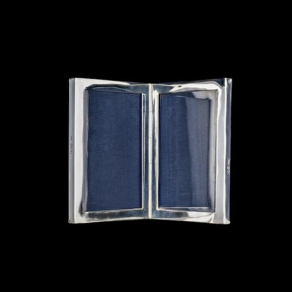 A silver antique double frame - image 2