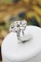 "An unusual ""Art Deco"" Diamond & Platinum Dress Ring, Circa 1945 - image 2"