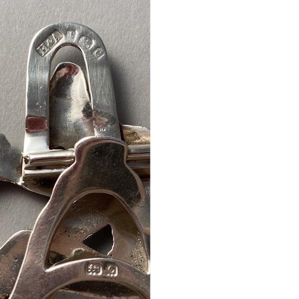 Birmingham 1902, Silver Menu Holder by Horton & Allday, SHAPIRO & Co - image 5