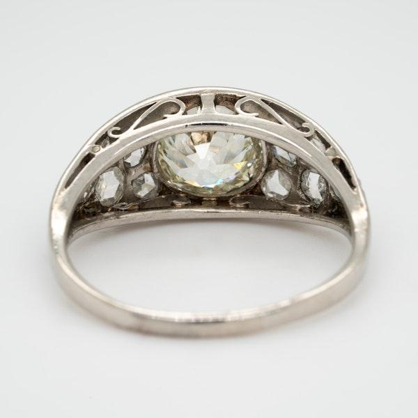 Edwardian diamond ring - image 4