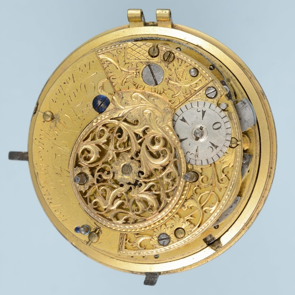 TURKISH MARKET QUARTER STRIKING CLOCKWATCH - image 4