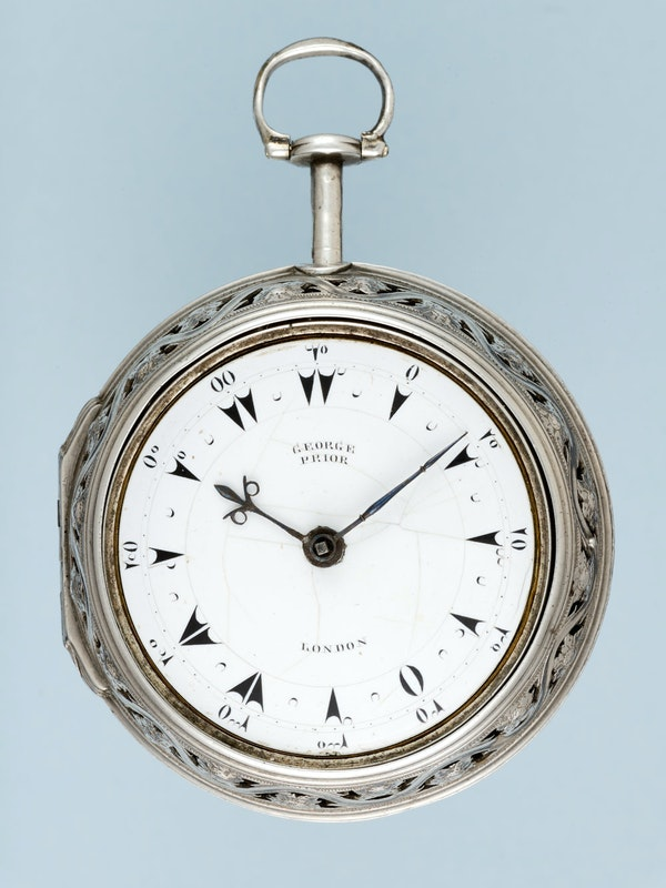 TURKISH MARKET QUARTER STRIKING CLOCKWATCH - image 7