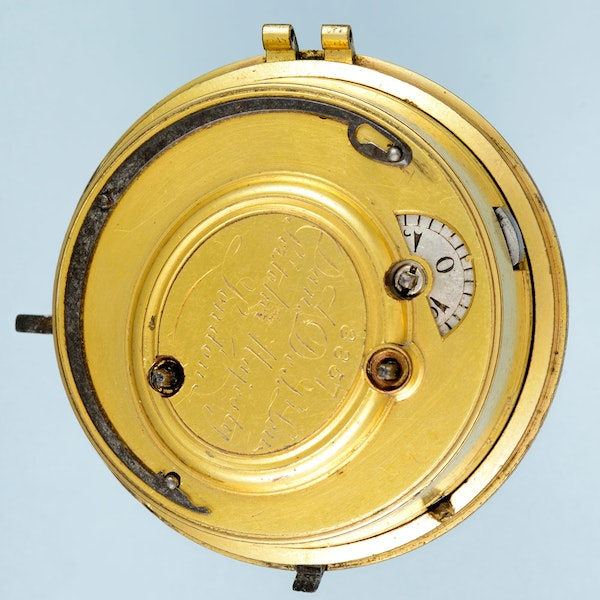 TURKISH MARKET QUARTER STRIKING CLOCKWATCH - image 3