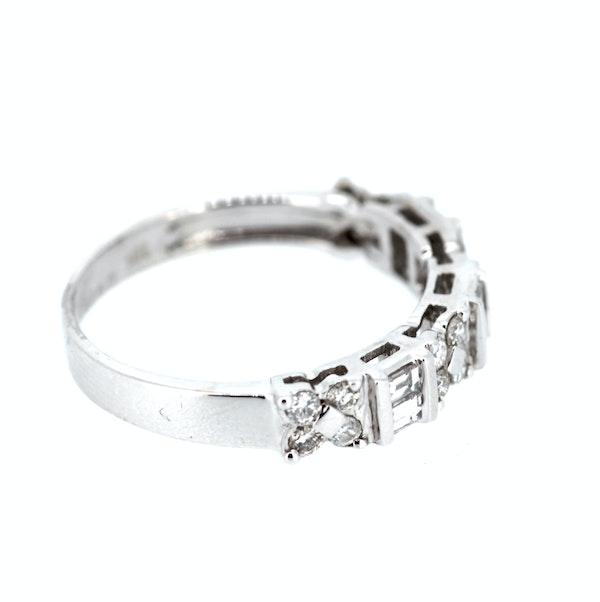 Fancy Diamond Eternity Ring. S.Greenstein - image 4