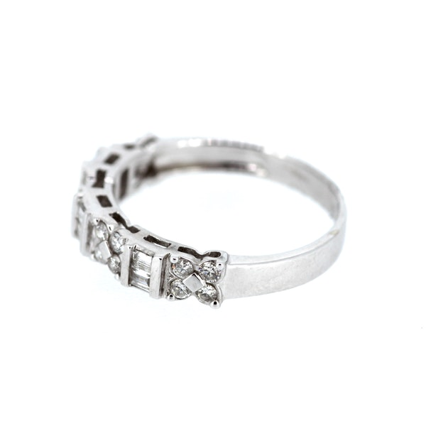 Fancy Diamond Eternity Ring. S.Greenstein - image 2