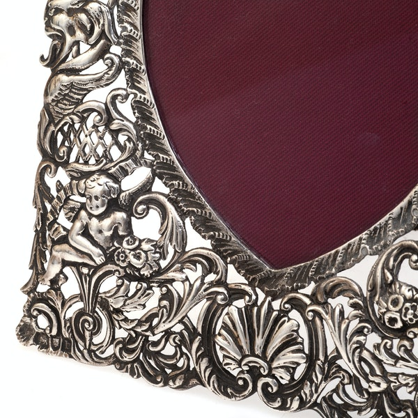 A Victorian Silver frame SOLD - image 2