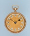 SMALL GOLD AND ENAMEL VERGE POCKET WATCH - image 3