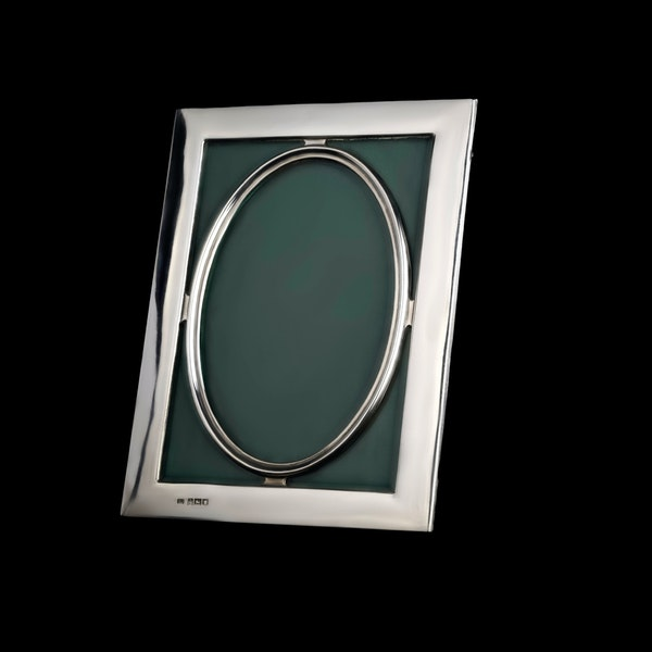 An unusual silver antique frame - image 1