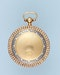 PEARL SET GOLD AND ENAMEL PENDANT WATCH - image 4
