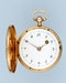 PEARL SET GOLD AND ENAMEL PENDANT WATCH - image 3