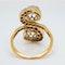 Edwardian Toi et Moi diamond ring - image 4