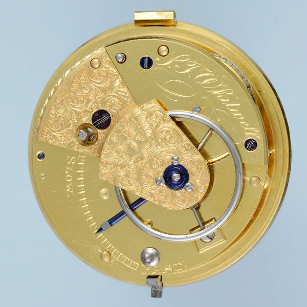 MASSEY TYPE I SILVER PAIR CASE POCKET WATCH BY MASSEY - image 4