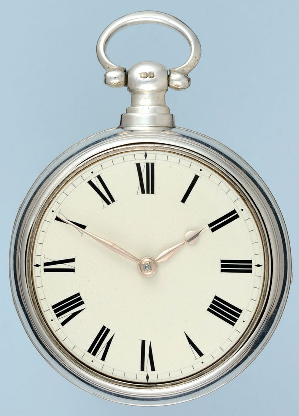 MASSEY TYPE I SILVER PAIR CASE POCKET WATCH BY MASSEY - image 5
