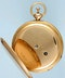 GOLD QUARTER REPEATING FRENCH CYLINDER POCKET WATCH - image 3