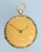 TURQUOISE SET GOLD SWISS LEVER - image 2