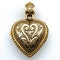 Ruby diamond heart vinaigrette pendant - image 4