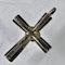 Byzantine silver cross with jasper intaglio - image 3