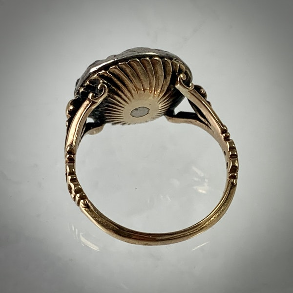 Eighteenth century diamond ring - image 3