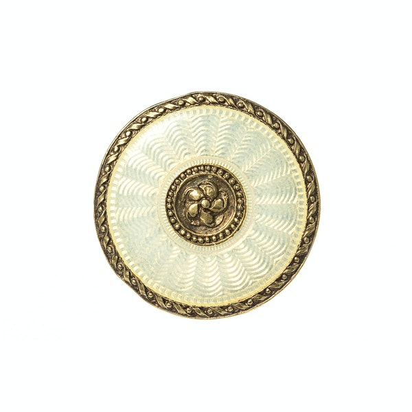 Art Nouveau Button Set from Boucheron in 18 Karat Gold & Guilloche Enamel, French circa 1900. - image 5