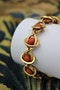 A very unusual Coral Bracelet set in 18 Carat Yellow Gold (tested), French, Circa 1945. - image 1