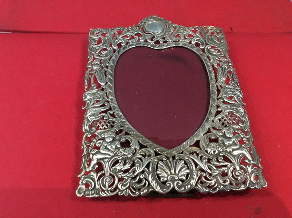 A Victorian Silver frame SOLD - image 5
