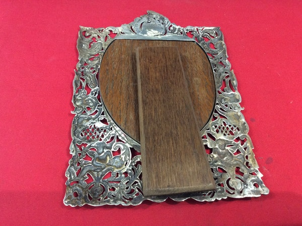 A Victorian Silver frame SOLD - image 6