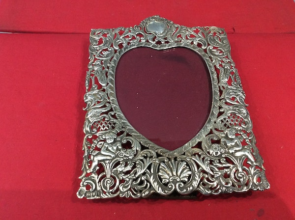 A Victorian Silver frame SOLD - image 4