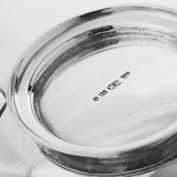 Russian Silver Tea Pot and Sugar Bowl, St. Petersburg, 1863 - image 6