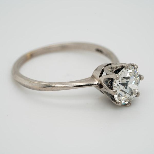 Diamond solitaire ring 1.46 ct - image 2