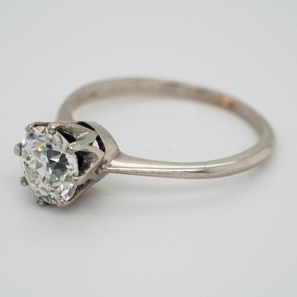 Diamond solitaire ring 1.46 ct - image 3