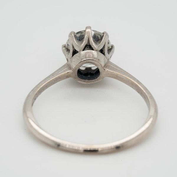 Diamond solitaire ring 1.46 ct - image 4