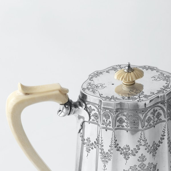 Victorian coffe pot - image 2
