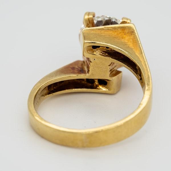 1970s diamond solitaire ring . Principal diamond 2.36 ct - image 4