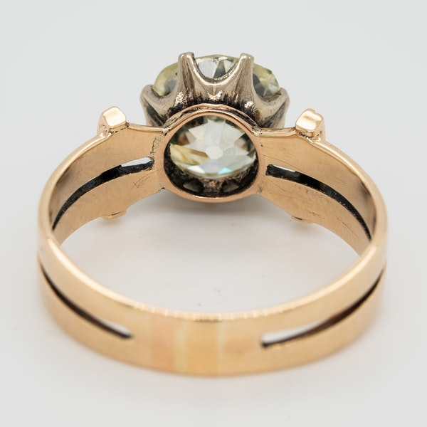 Diamond solitaire ring - image 4