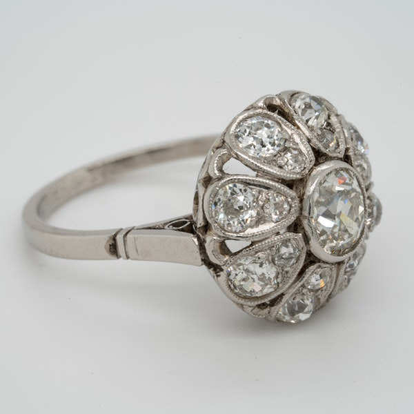 Belle Epoque Diamond Bombe Ring  DBGEMS - image 2