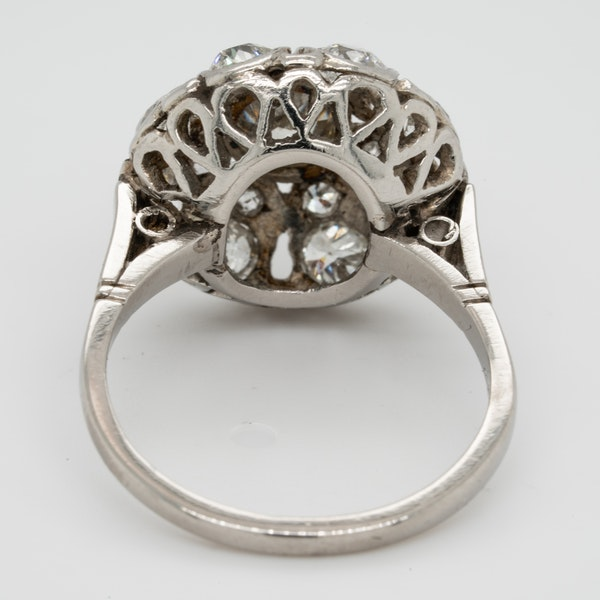 Belle Epoque Diamond Bombe Ring  DBGEMS - image 3