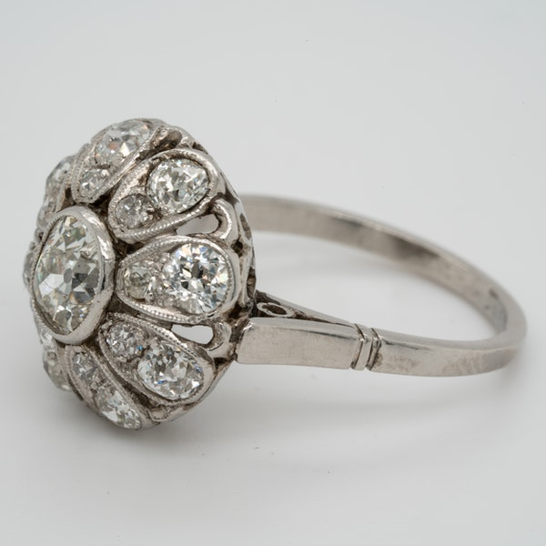 Belle Epoque Diamond Bombe Ring  DBGEMS - image 4
