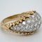 1960's bombe diamond dress ring - image 2