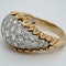 1960's bombe diamond dress ring - image 4