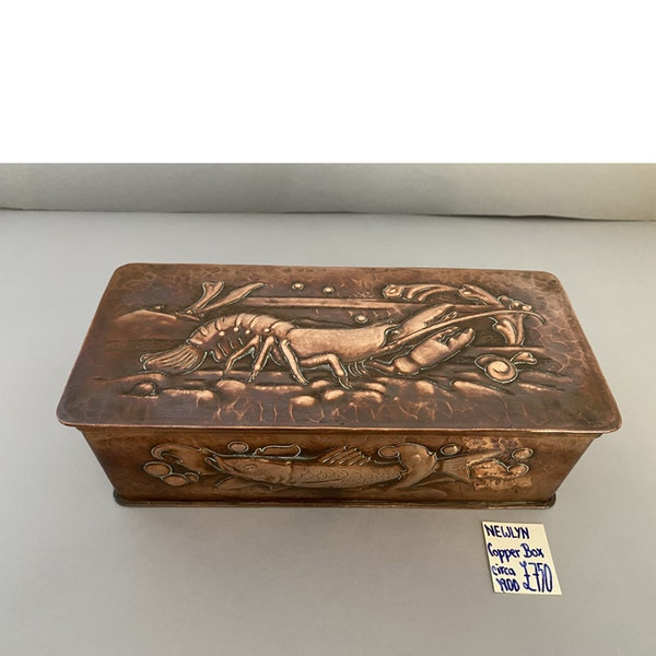 Date circa 1900, Copper Box by NEWLYN, SHAPIRO & Co - image 8