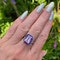 2010's, 18k White Gold Ametrine & Amethyst stone set Ring by Lilly Shapiro, SHAPIRO & Co - image 3