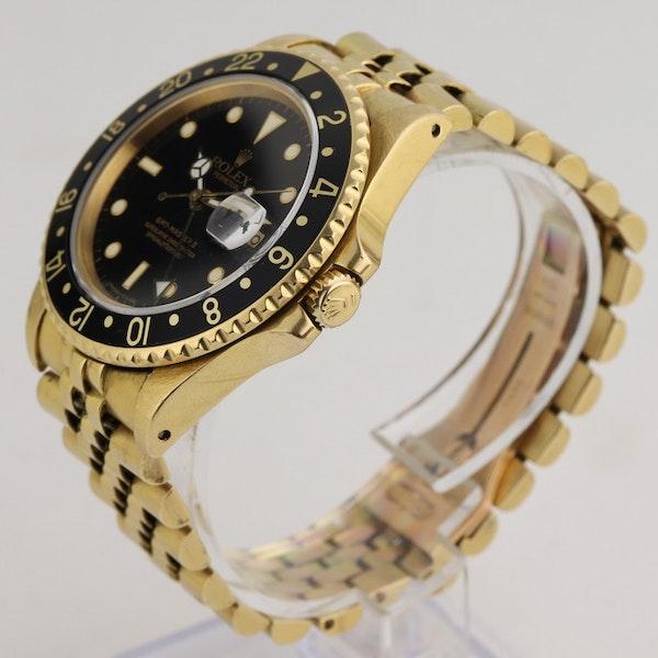 Rolex GMT-Master II, 18K Yellow Gold, 16718 - image 2