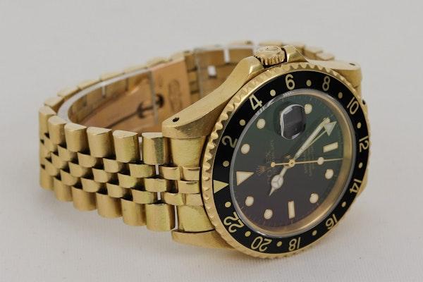 Rolex GMT-Master II, 18K Yellow Gold, 16718 - image 4