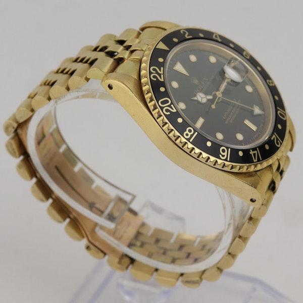 Rolex GMT-Master II, 18K Yellow Gold, 16718 - image 3