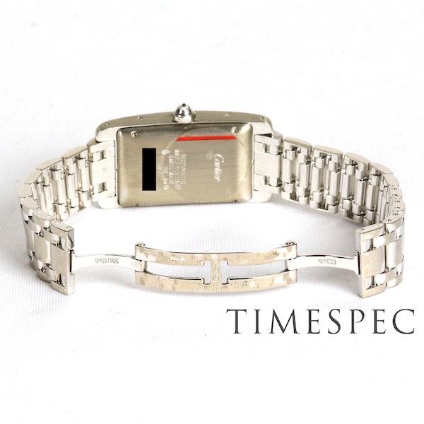 Cartier Tank Américaine Midsize, 18K White Gold Automatic - image 8