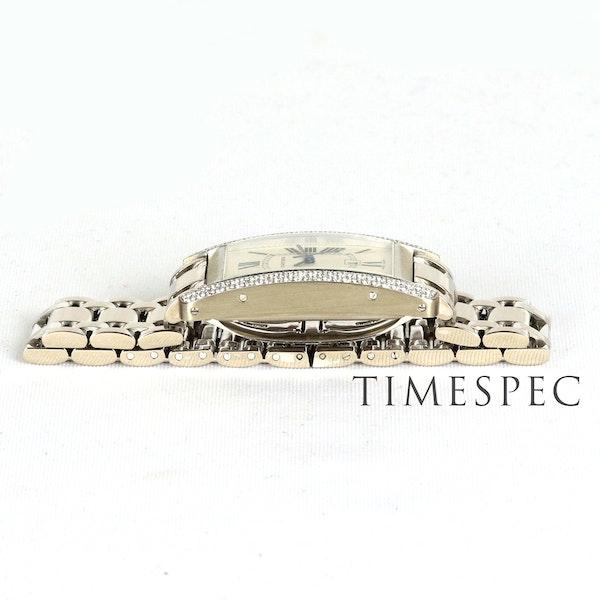 Cartier Tank Américaine Midsize, 18K White Gold Automatic - image 6