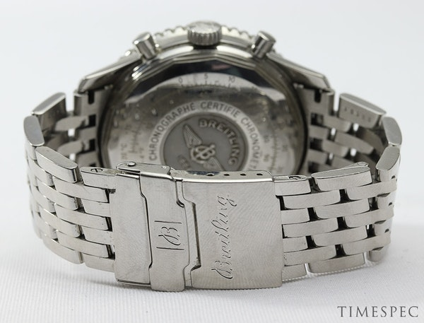 Breitling Old Navitimer Blue Dial With Papers - image 8