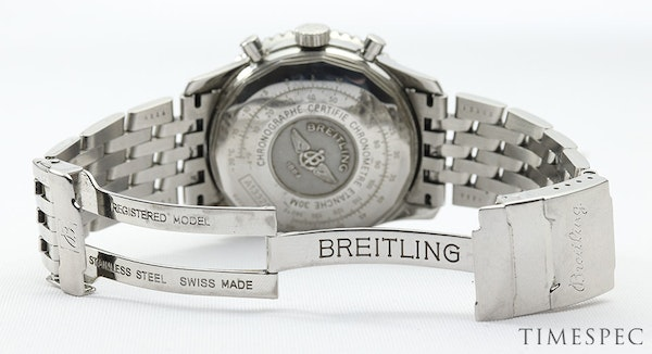 Breitling Old Navitimer Blue Dial With Papers - image 7