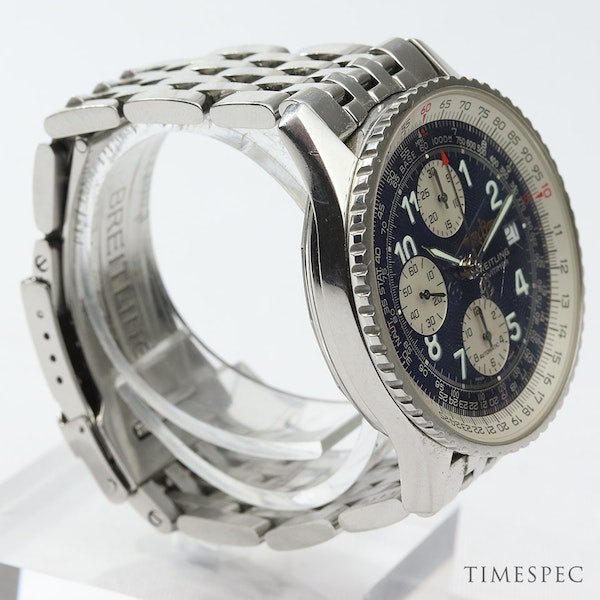 Breitling Old Navitimer Blue Dial With Papers - image 3